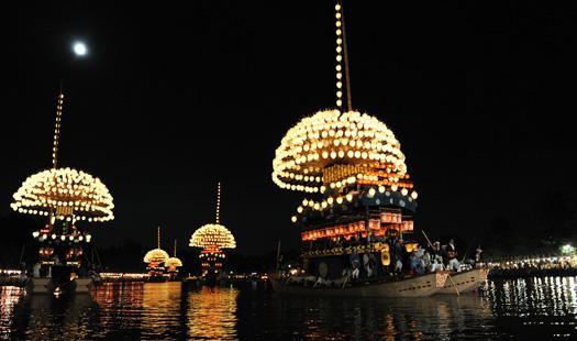 尾張津島天王祭 (7月第4土曜日・日曜日/津島神社・天王川公園)